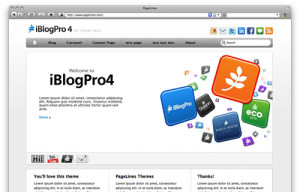 iBlog screenshot
